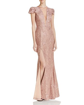 Dress the Population - Mia Lace Gown