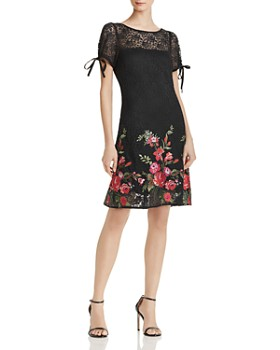 Betsey Johnson - Embroidered Lace Dress