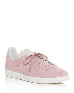 WOMEN'S GAZELLE STITCH AND TURN SUEDE LACE UP SNEAKERS