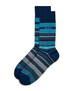 Hugo Boss Multi Stripe Socks - Bloomingdale's_0