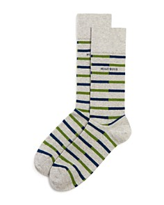 Hugo Boss Striped Socks - Bloomingdale's_0