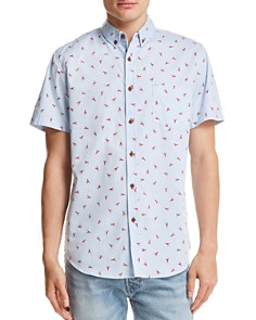 Sovereign Code Crystal Cove Lobster Button-Down Shirt - Bloomingdale's_0
