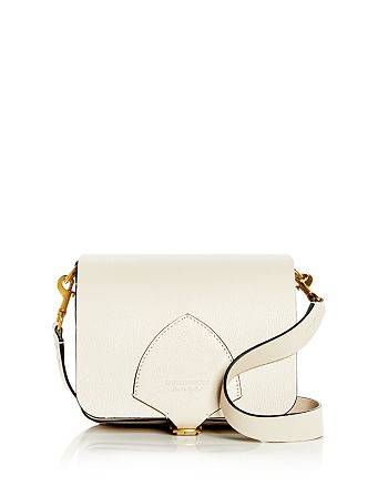 Burberry - Square Leather Satchel