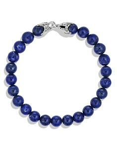 David Yurman - Spiritual Beads Bracelet with Lapis Lazuli, 8mm
