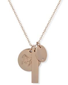 """Lauren Ralph Lauren Horse Charm Pendant Necklace, 24"""" - Bloomingdale's_0"""