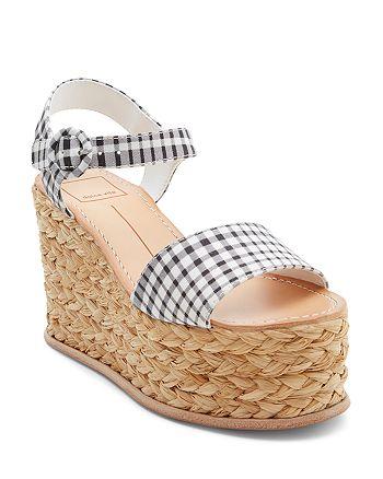 Dolce Vita - Women's Dane Espadrille Platform Wedge Sandals