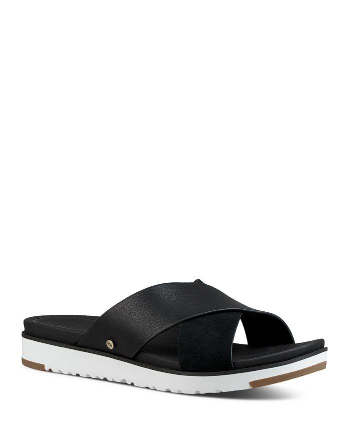 UGG® - Women's Kari Leather Slide Sandals