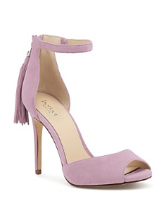 Botkier - Women's Anna Suede Ankle Strap High-Heel Sandals