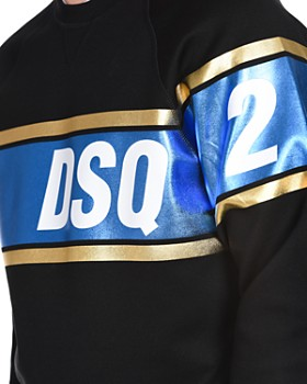 DSQUARED2 - Metallic Logo Crewneck Sweatshirt