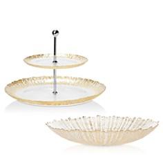 VIETRI Rufalo Glass Gold Serveware - Bloomingdale's_0