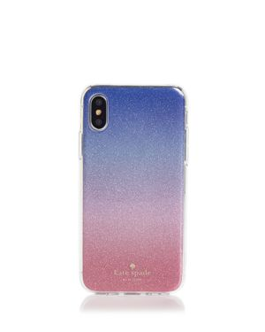 kate spade new york Sunset Ombre Glitter iPhone X Case 2955764