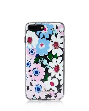 kate spade new york Jeweled Daisy Garden Clear iPhone 7/8 Plus Case 2955774