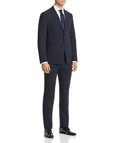 Theory - Seersucker Check Cotton Slim Fit Suit Separates