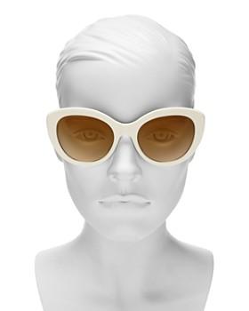 dd347d2e754 ... 55mm Tory Burch - Women s Mirrored Gradient Cat Eye Sunglasses