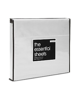 Bloomingdale's Essentials - 400TC Wrinkle Free Sheet Sets - 100% Exclusive