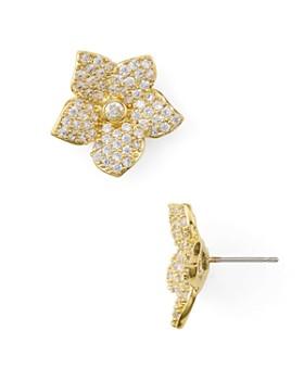 kate spade new york - Pave Bloom Stud Earrings
