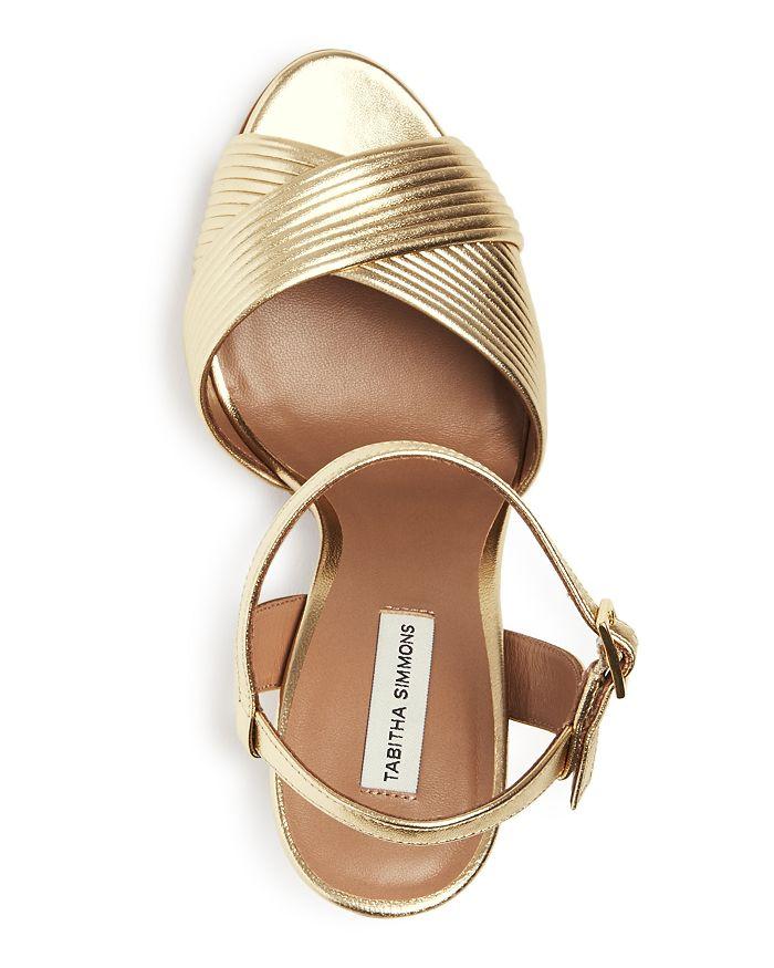 0309a8520f9 Tabitha Simmons - Women s Kali Pleated Block-Heel Sandals