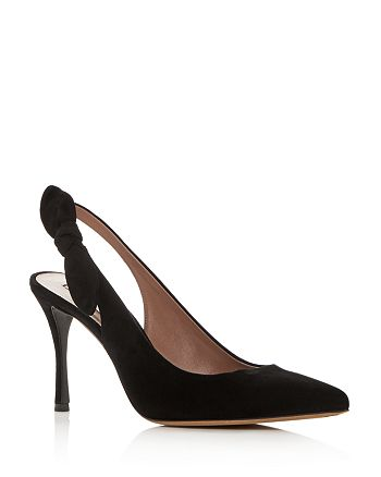 Tabitha Simmons - Women's Millie Slingback Pointed Toe Pumps