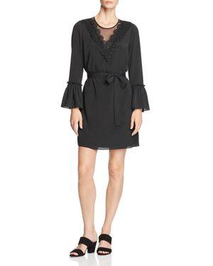 PIPER LACE APPLIQUE DRESS - 100% EXCLUSIVE
