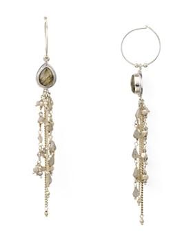 Chan Luu - Cultured Freshwater Pearl Linear Drop Earrings
