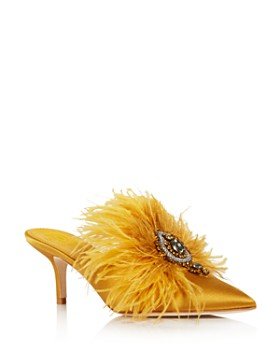 Tory Burch - Women's Elodie Embellished Mules