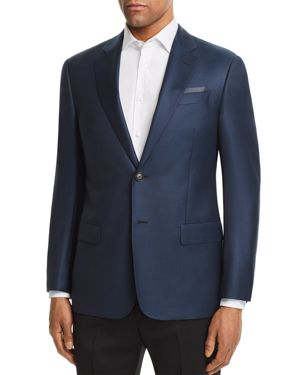 Emporio Armani Dotted Regular Fit Sport Coat