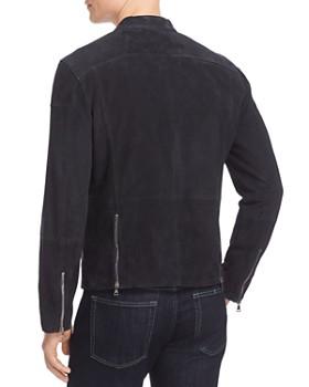 John Varvatos Collection - Suede Moto Jacket