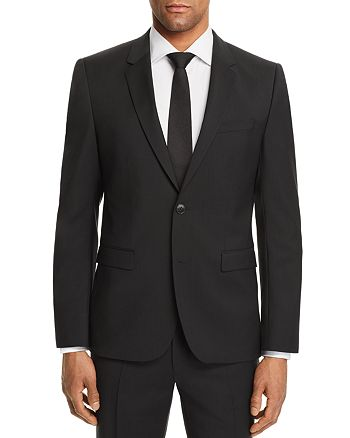 HUGO - Aldons Slim Fit Basic Suit Jacket