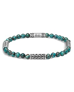 John Hardy Sterling Silver Classic Chain Station & Chrysocolla Bead Bracelet, 5mm - Bloomingdale's_0