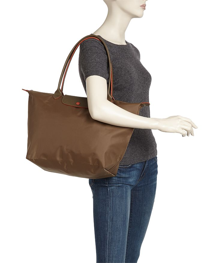 73a5458cc4 Longchamp Le Pliage Club Large Shoulder Tote | Bloomingdale's