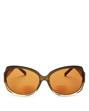 CORINNE MCCORMACK 'ELIZABETH' 61MM READING SUNGLASSES - OLIVE