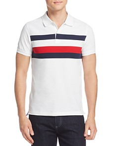 Tommy Hilfiger Tommy Chest Stripe Slim Fit Polo Shirt - Bloomingdale's_0