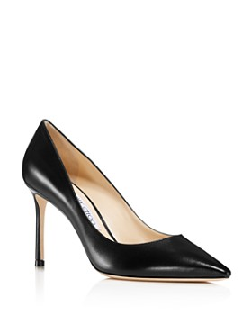 d215a8d489e Jimmy Choo - Women s Romy 85 Leather Pointed Toe High-Heel Pumps ...