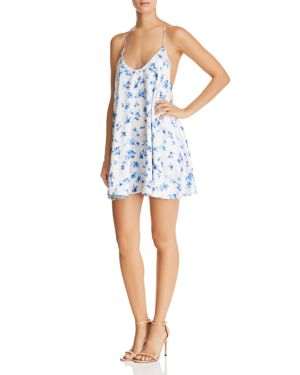 Cami Nyc Rori Silk Floral Slip Dress