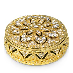 Olivia Riegel - Gold Windsor Round Box