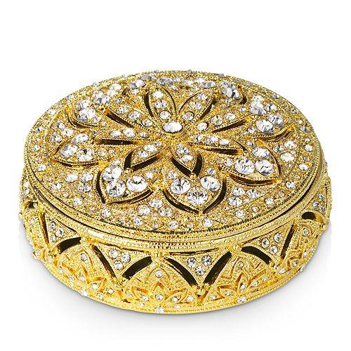 Olivia Riegel - Gold Windsor Round Box