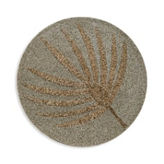 Joanna Buchanan - Silver & Gold Palm Frond Placemat