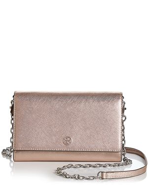 Tory Burch Robinson Leather Chain Wallet 3190689