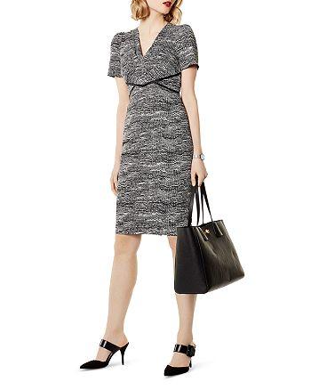 KAREN MILLEN - Puff-Sleeve Sheath Dress
