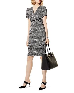Karen Millen Puff-Sleeve Sheath Dress