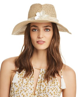 Eric Javits - St Tropez Embellished Hat