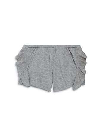 CHASER - Girls' Ruffled Cotton Shorts - Little Kid, Big Kid