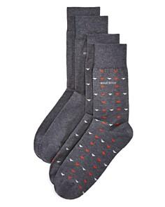 Hugo Boss Mixed Pattern Socks, Pack of 2 - Bloomingdale's_0