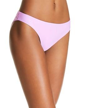 PilyQ - Isla Basic Ruched Side Bikini Bottom