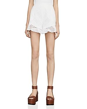 Bcbgmaxazria Janel Eyelet Shorts