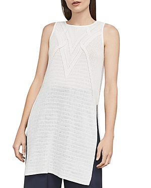 Bcbgmaxazria Jocelyn High/Low Pointelle Tunic
