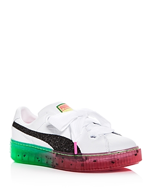 Puma x Sophia Webster Women's Candy Princess Leather Lace Up Platform Sneakers