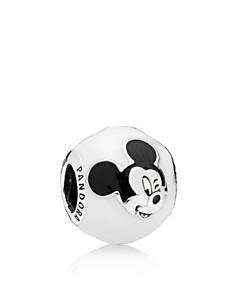 PANDORA Sterling Silver & Enamel Disney Expressive Mickey Charm - Bloomingdale's_0