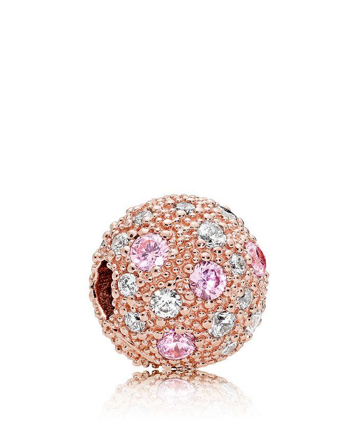 Pandora - Rose Gold-Tone Sterling Silver Cosmic Stars Charm
