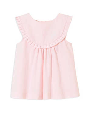 Jacadi Girls Pleated Bib Dress  Baby